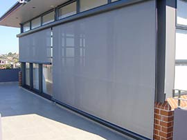 Shadeform sails adelaide home for Motorized roll up shades