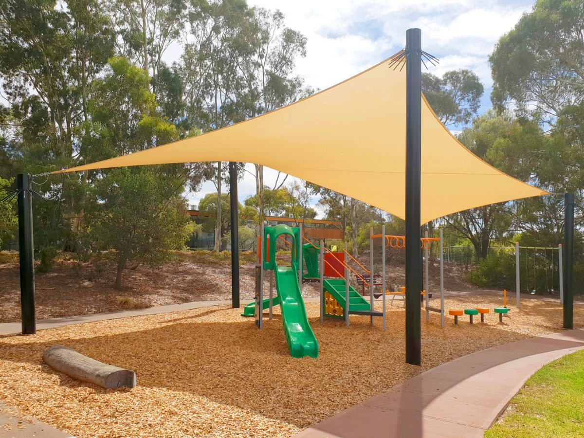 Shading Parks & Play Spaces Across Tea Tree Gully