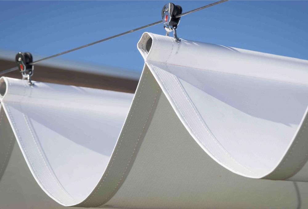 Retractable Shade Sails